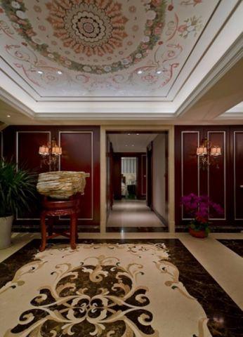 客厅走廊古典风格装饰图片