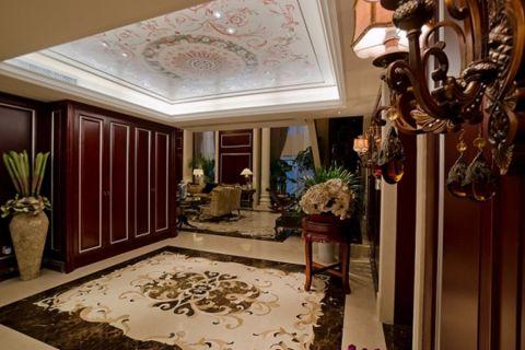 玄关走廊古典风格装潢设计图片