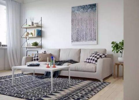 林海公寓温馨俩居室装修效果图