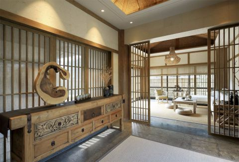 门厅日式风格装修图片