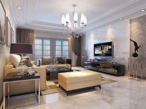 国际城三室两厅两卫现代简约装修效果图
