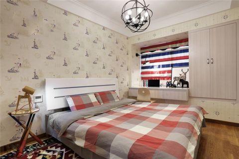 卧室飘窗北欧风格效果图