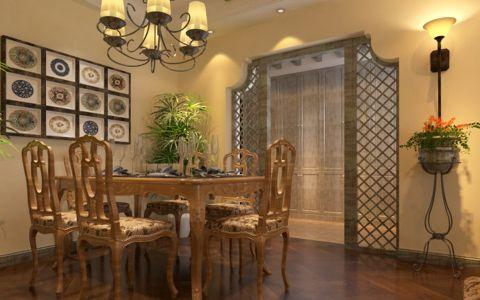 餐厅美式风格装修设计图片