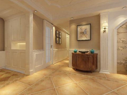 玄关门厅美式风格效果图