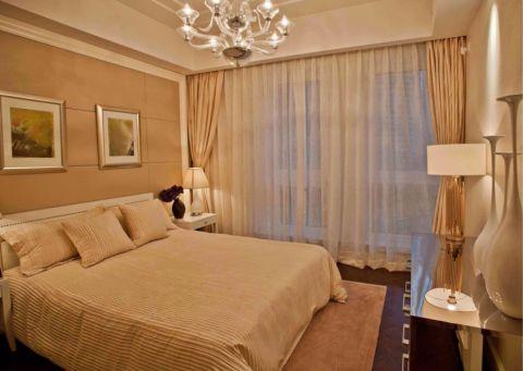 卧室简欧风格装修设计图片