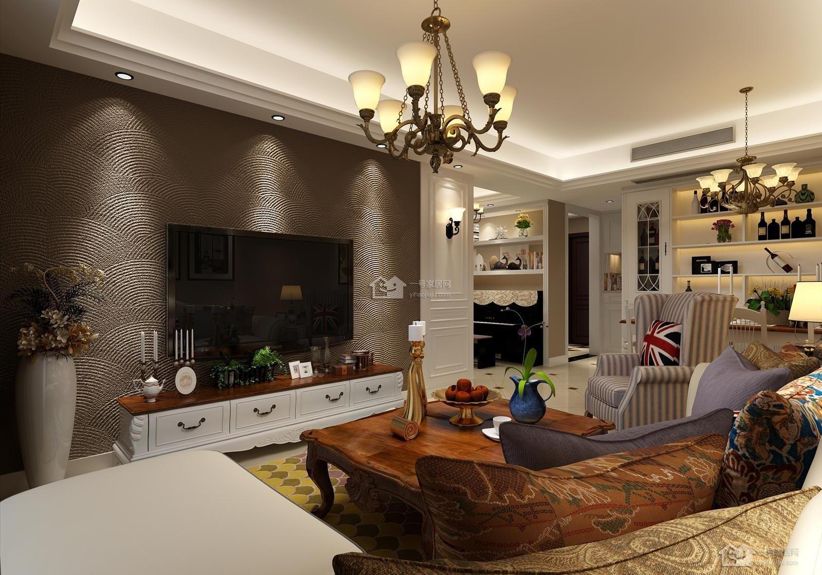 3室2卫2厅160平米欧式风格