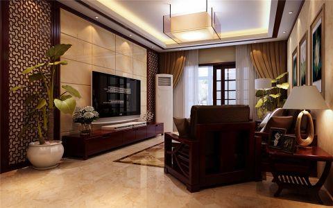 二七万达广场新古典三室两厅一厨两卫效果图