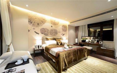 2020新中式90平米效果图 2020新中式二居室装修设计