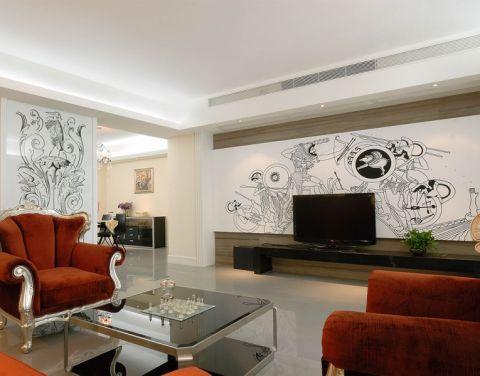 2021欧式80平米设计图片 2021欧式一居室装饰设计