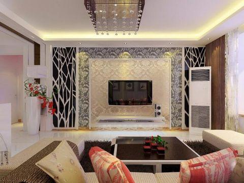 海棠家园98平米现代风格装修设计效果图