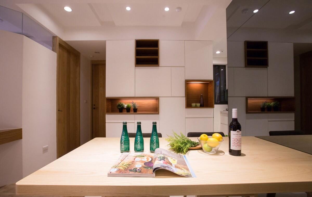 2室1卫2厅76平米简单风格