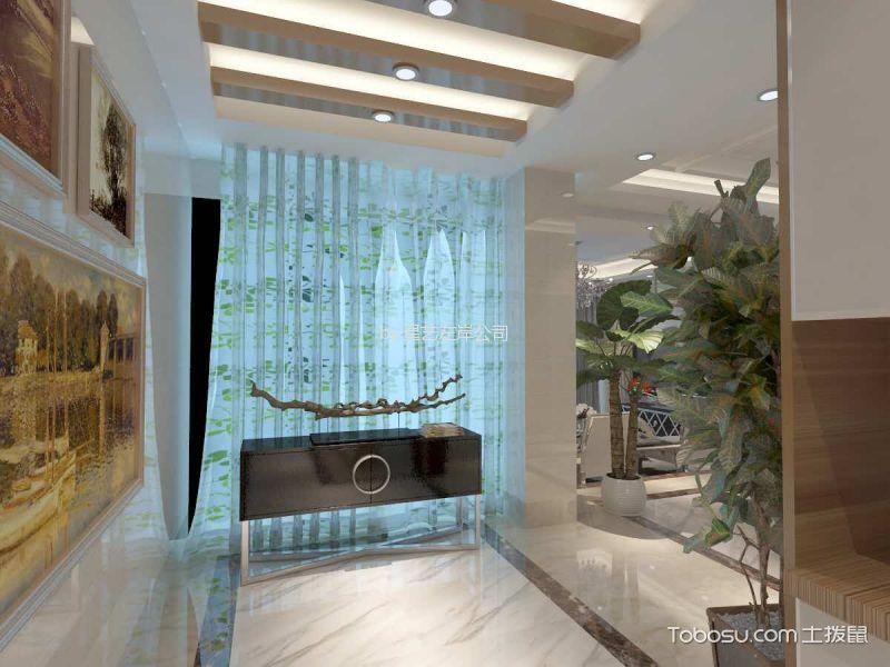 四居室后现代风格装修效果图