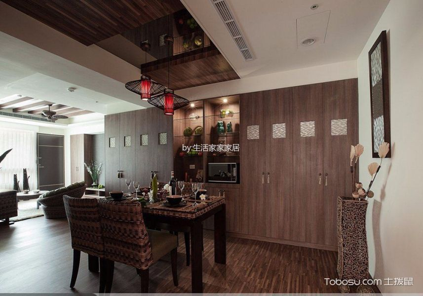 2020东南亚120平米装修效果图片 2020东南亚套房设计图片