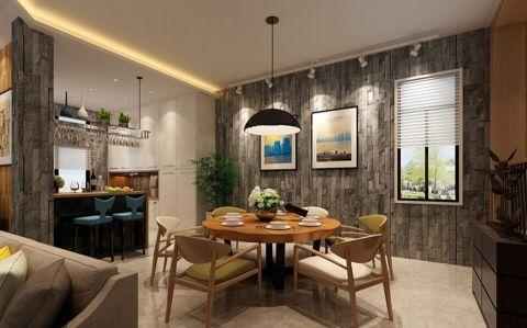 中铁生态城别墅现代风格装修案例