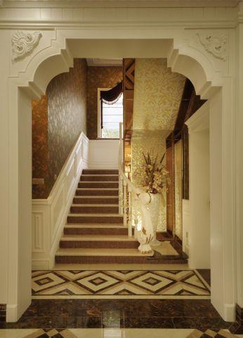 楼梯法式风格装饰效果图