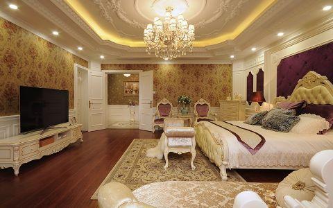 卧室吊顶法式风格装修图片