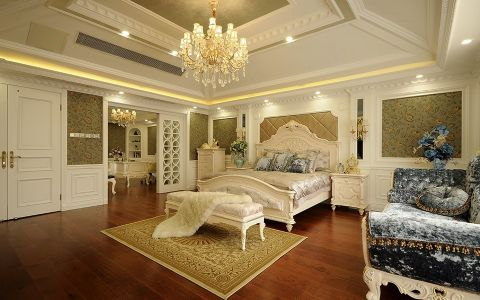 卧室吊顶法式风格装饰图片