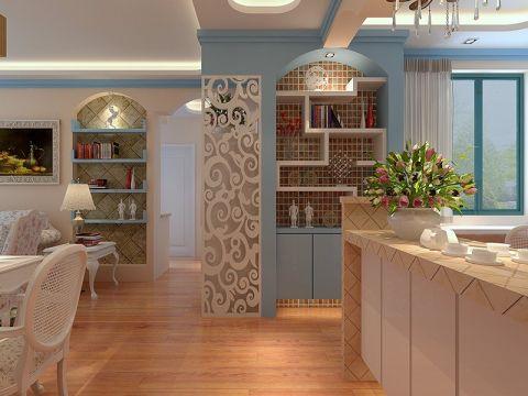 玄关走廊田园风格装饰设计图片