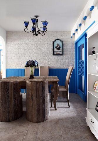 餐厅吊顶地中海风格装潢效果图