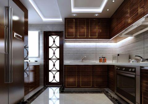 厨房新中式风格效果图
