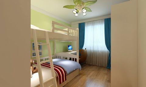 儿童房吊顶现代简约风格装饰图片