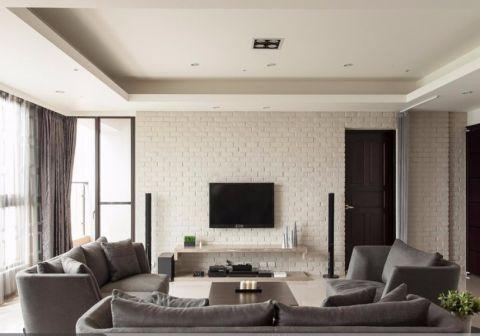 客厅照片墙北欧风格装修设计图片