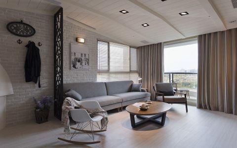 2021北欧110平米装修图片 2021北欧三居室装修设计图片