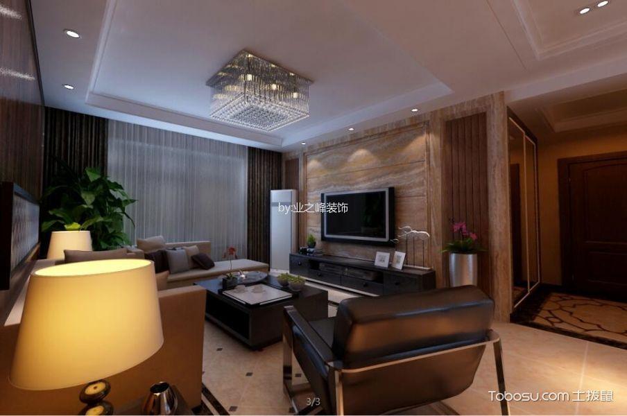 中海紫御公馆140平现代风格案例效果图