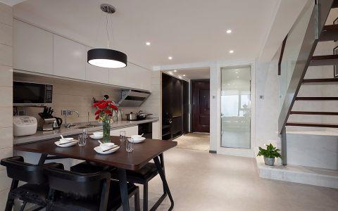 LOFT公寓90平米现代风格装修效果图