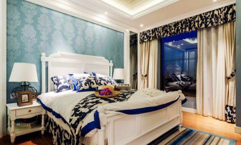 颐和家园地中海风格三居室装修效果图