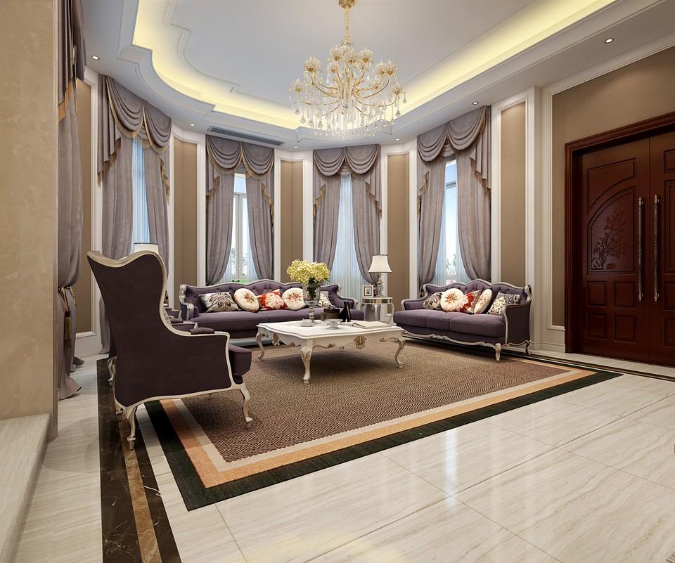 3室1卫2厅300平米欧式风格