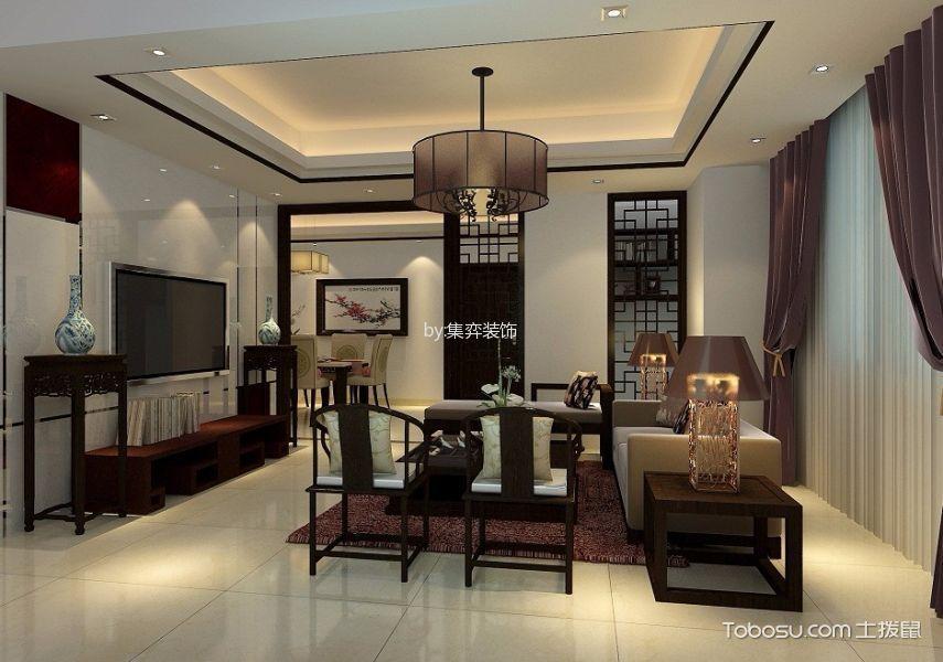 四居室中式风格装修效果图