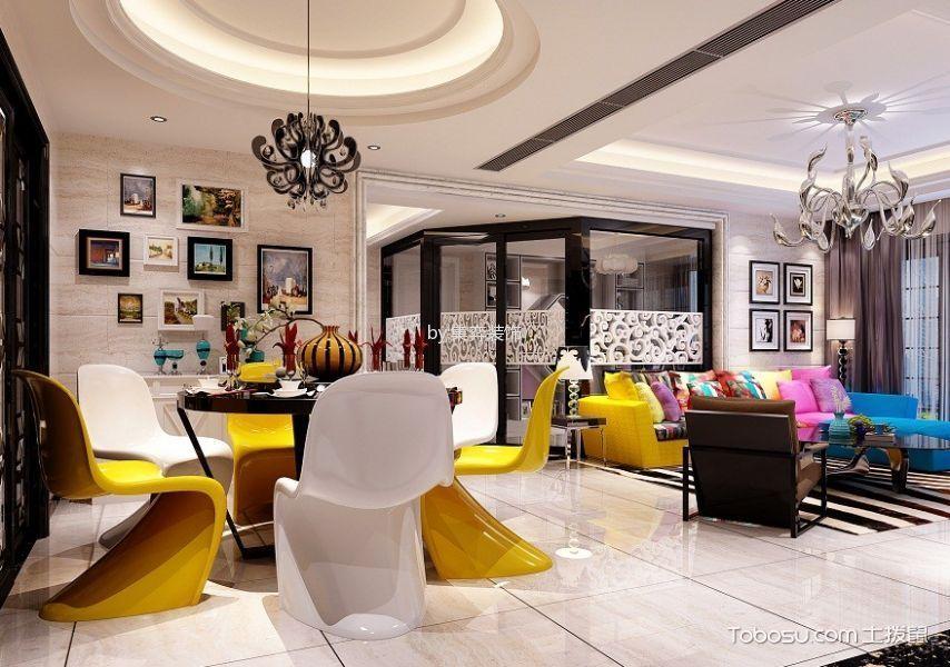 碧桂园现代简约三居室装修效果图