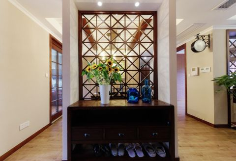 太湖国际135平四室两厅两卫乡村美式风格实景图