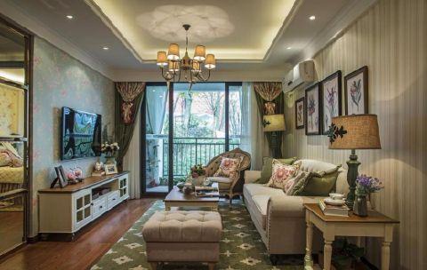滨湖世纪城欧式四居室装修效果图