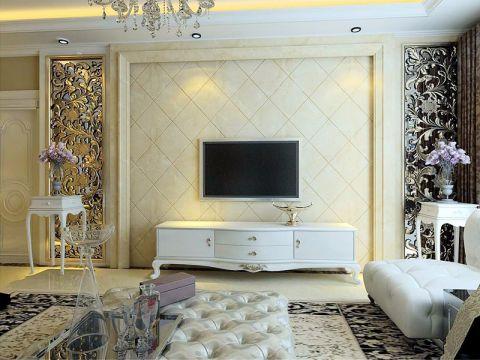 怡然家园97平米简欧风格装修设计效果图