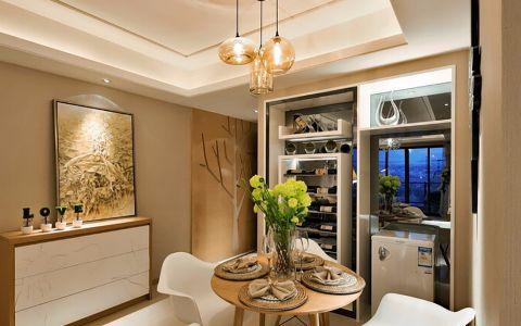 翰林园98平时尚现代简约风格公寓效果图