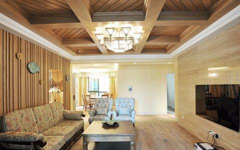 新东方家园 130平新中式风格效果图