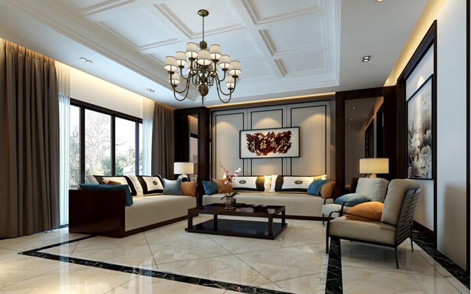 5室3卫3厅340平米新中式风格