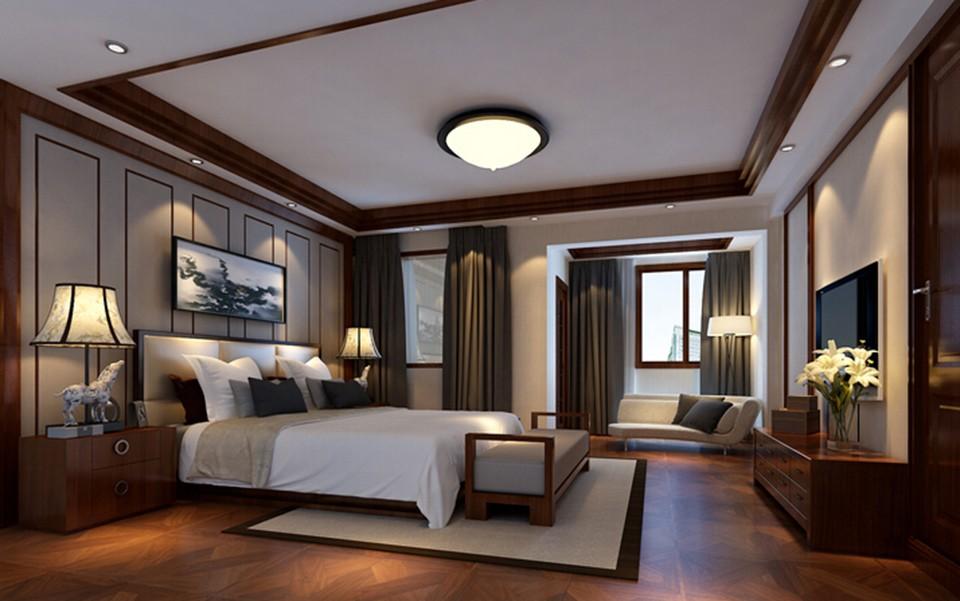 5室3卫3厅360平米中式风格