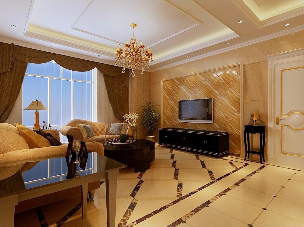 4室1卫2厅162平米欧式风格