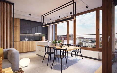 2020现代简约80平米设计图片 2020现代简约一居室装饰设计