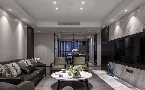 2020现代简约70平米装修效果图大全 2020现代简约公寓装修设计