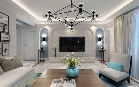 世纪雅苑-北欧风格-三居室装修效果图