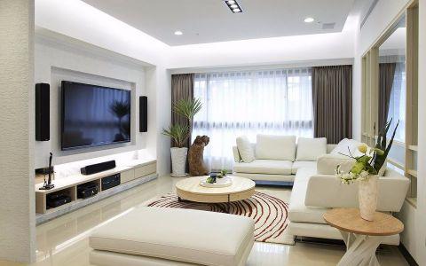 进入客厅,呈现出简约的特性,用简练的线条描绘场域的精彩,设计师在沙发背墙以人文气息的文化石表现,并将此元素延续到廊道。电视面墙则采用雪白银狐大理石,并向外推保留间距,于背墙后构置收纳机柜,让立面干净好整理。由于单身的原因,设计师设置了中岛代替餐厅,让空间有了更多的运用;其吧台台面使用了与电视墙相同的雪白银狐,让元素呼应、氛围连贯。主卧空间,使用了柚木集层材地板,则围塑一贯的自然质朴,营造出温润舒缓的氛围,也让一个人的生活多了份自在。