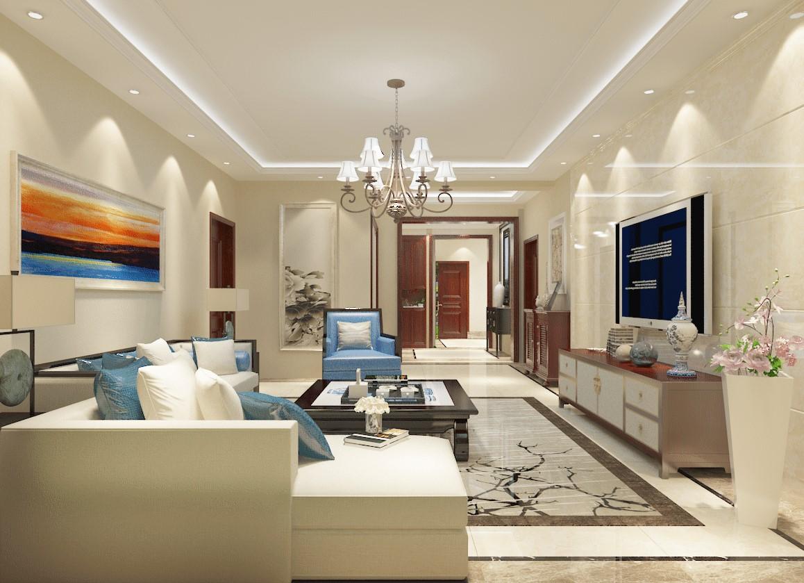 3室2卫2厅156平米新中式风格