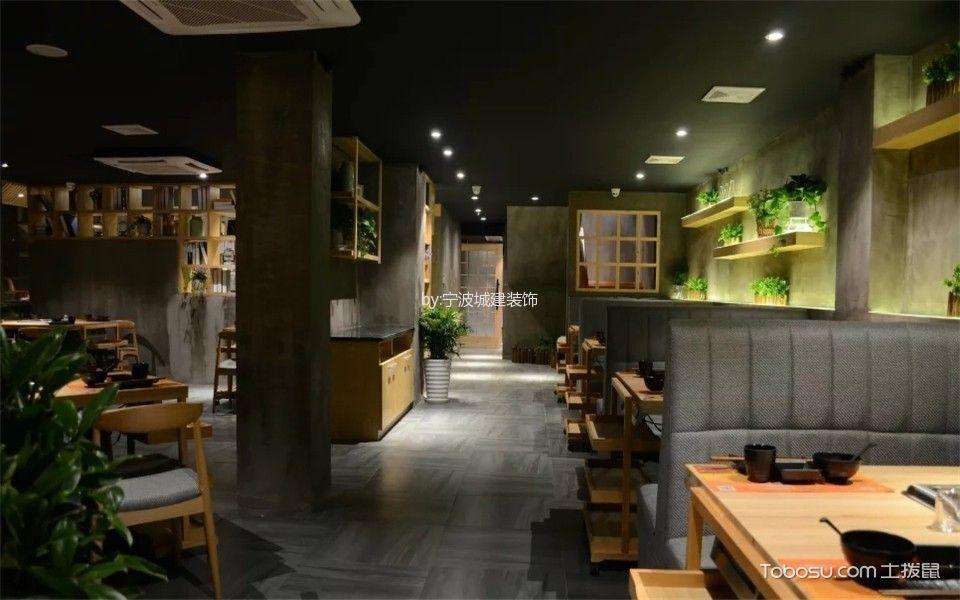 古典风格养生火锅店走廊装修设计图片