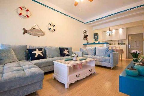 2020地中海80平米设计图片 2020地中海二居室装修设计