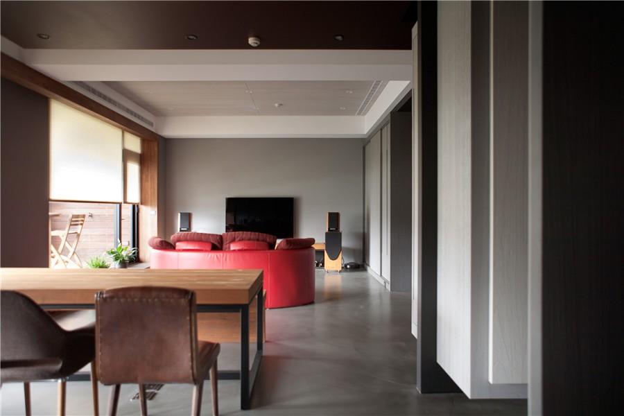 2室2卫1厅140平米现代风格