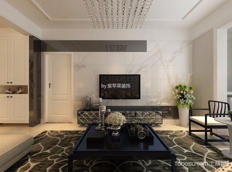 晋中新兴国际文教城135平米现代风格效果图